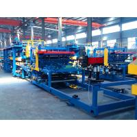 China Automatic PU Foam Sandwich Panel Production Line Good Heat Preservation Capacity on sale