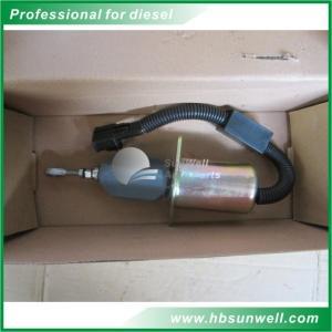 Quality QSL9 6CT engine fuel shut off 24v Fuel Pump Solenoid 37Z36-56010A 3977620 wholesale