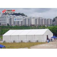 Quality High Capacity Modern Wedding Marquee Tent With Transparent Window Rain Proof wholesale