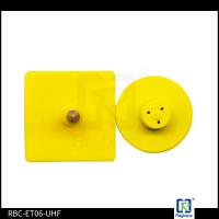 Quality Small Rectangular Custom RFID Tags / UHF Passive Rfid Tags 860 - 960Mhz Frequency wholesale
