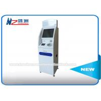 China Wireless Connection Coin Counting Information Kiosk , Coin Counter Machine Locations on sale