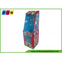 Quality Point Of Purchase Dolls Cardboard Retail Display Stands With PVC Windows FL086 wholesale