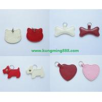 Quality PET Tags,Leather Dog Tags PET Accessory,Dog Collars Tag wholesale