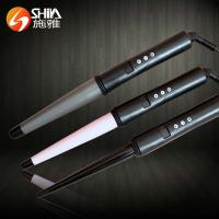 China Collection Pearl Digital Ceramic/Titanium Hair Curler Curling iron Wands magic leverage on sale