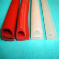 China Durable Silicone Extruded Profiles Electrically Insulating With Dielectric Strength 500 V/Mil on sale