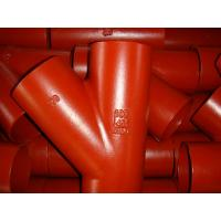Quality Cast iron pipe fittings 45 degree branch wholesale