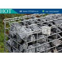Quality Welded Gabion Box /Stone Cages/Gabion Retaining Wall For Garden Fence For Sale wholesale