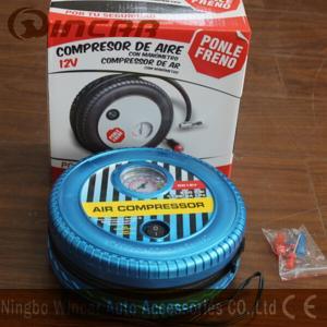 Quality DC 12V Portable Air Compressor / Tire Air Compressor Ningbo Wincar wholesale