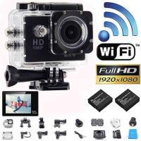 """Buy cheap New Style W9 WIFI Action Camera 2.0""""LCD Full HD 1080P Camcorder CMOS Diving 30M Sports DV product"""