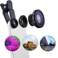 Cheap 3 In 1 Wide Angle Telephoto Zoom Camera Lens Shoot Larger Range Scenery for sale