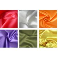 Quality 100% Textile Polyester Knit Fabric Satin Shining Surface 50D * 70D Yarn Count wholesale