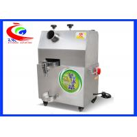 China Stainless steel sugar cane juice making machine/sugar cane juice extractor on sale