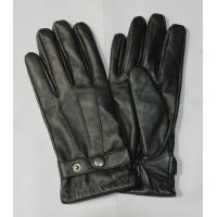 Quality men full finger sheepskin leather gloves accept custom logo wholesale