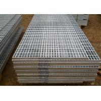 Quality Sliver Color Platform Steel Grating Industrial Floor Grates Plain Type wholesale