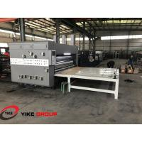 Quality Chain Feed Hd Flexo Printing Slotting Machine Die Cutter Machine With Stacker wholesale