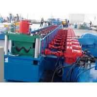 Quality 2 Waves Highway Guardrail Roll Forming Machine Gear Box Driven Type wholesale