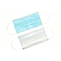 Quality Blue Safety OEM Non Woven Disposable Earloop Face Mask wholesale