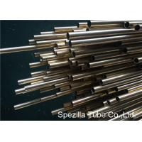 Quality CuZn20Al2As Aluminum Brass Tube , ASME SB395 Copper Nickel Pipe Welding CZ110 wholesale