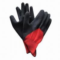 Quality Latex Dipped Working Gloves, Comfortable, Porous and Safe wholesale