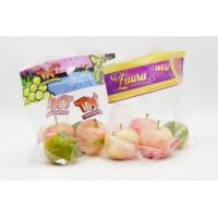 China Clear Transparent Fresh Fruit Bags Breathable Laminated Plastic Gloosy / Matte Surface on sale