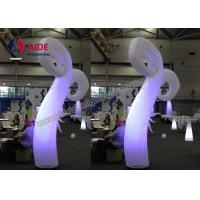 Quality Standing Cone Led Lighting Inflatable Flowers Wedding Event Decoration wholesale