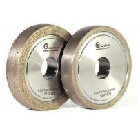 Quality Refractory Diamond Metal Bond Grinding Wheels With Round Edge For Glass wholesale