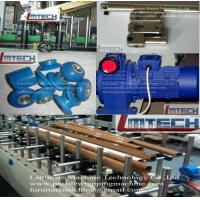 Wooden Curtain Rod profile wrapping machine