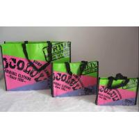 China Promotional Eco Friendly Plastic PP Woven Shopping Bag Colorful on sale