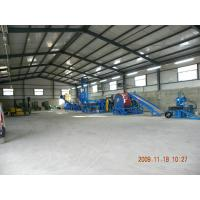 China 1000kg/hr Waste Tire Recycling Line , Waste Tire Rubber Powder Production Line on sale