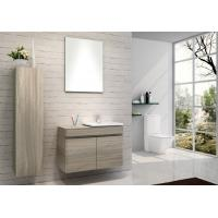 Quality Hanging Bathroom vanity custom made grey Color Plywood board wall bathroom cabinets 80 X 45 / cm wholesale