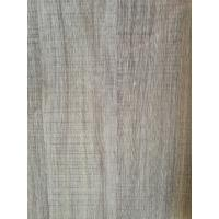 Quality Printed Grey Wood Grain Decorative Paper Surface Abrasion Resistance 500kg / Roll wholesale