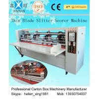 Quality Vertical Paper Slitting Carton Cutting Machine With For Pressing / Folding wholesale