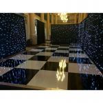 Quality Make lighted dance floor led video dance floor led dance floor 30ft black portable led dance floors for sale wholesale
