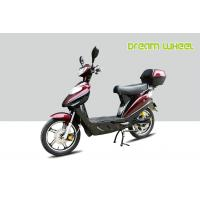 China CE Power Assisted Electric Scooter / bike 500W 72V battery Red Hydraulic Disc Brakes on sale