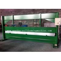 Quality TY 4m Hydraulic Color Coated Steel Sheet Bending Cutting Machine PLC  Panasonic wholesale
