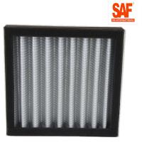Quality Card Case Pleated Panel Filters , Metal Net Air Pre Filter Customized Size wholesale