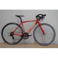 Quality Made in China red steel 540mm frame 700c thin tube road bicycle/bicicle with Shimano 14 speed wholesale