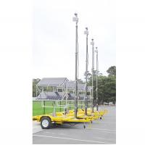Quality 6m solar cctv trailer wholesale