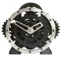 China Desk Gear Clock on sale