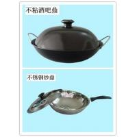 China Non Stick Frying Wok with Lid on sale