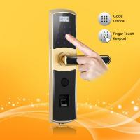 China Password and Biometric Fingerprint Door Lock for Home or Office on sale