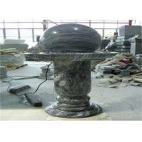 Quality Elegant Floating Marble Ball Fountain , Interior Decorative Stone Marble wholesale