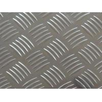 Quality China Supplier Bright Surface Five Bars Aluminum Checkered Plate 5052 Checker plate Anti-slip Plate wholesale