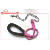 Quality Chain Tensile Rope Pet Leash For Walking Large Dog With Soft Foam Ergonomic Handle wholesale