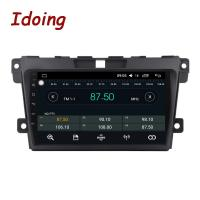 Quality Idoing 1Din 2.5D IPS Screen Car Android8.0 Radio Video Multimedia Player Fit Mazda CX-7 CX 7 CX7 4G+64G GPS Navigation F wholesale