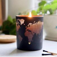 Quality Fashion Creative Design Soy Scented Jar Candle With Metal Lid Home Decoration wholesale