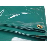Quality 14 OZ Water Proof Glossy PVC Coated Tarpaulin Fabric For Boat Cover Or Truck Cover wholesale