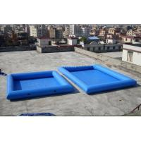 Quality 8M*6M Inflatable Swimming Pool With Fireproof PVC Tarpaulin For Family wholesale