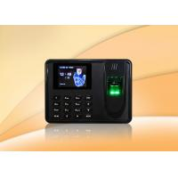 China USB Host Biometric Time Clock / Simple Fingerprint Time Clock With Free Software on sale