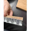Interior ODM Design 3.0mm Thickness Aluminium Veneer for sale